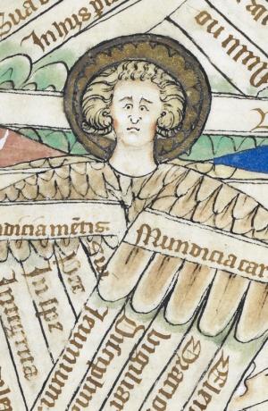 Detail from BL, Arundel MS 83, fol. 5v